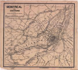 1916-3: Montreal and environs. - 1916