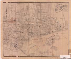 1881-2: New map of the City of Montreal shewing [sic] all the latest improvements & extension...