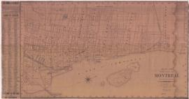 1883-3: Map of the City of Montreal. - [1883?]