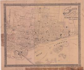 1886-1: New map of the City of Montreal shewing [sic] all the latest improvements & extension...