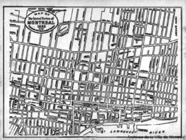 1893-2: Map of the central portion of Montreal. - 1893