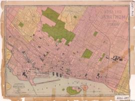 1913-5: The Rand-McNally new commercial atlas map of Montreal. - 1913