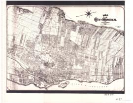 1922-7: Map of the city of Montreal and surroundings / Compiled by E.P.J. Courval, chief draughts...