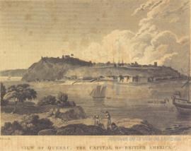 View of Quebec, the Capital of British America. -1825