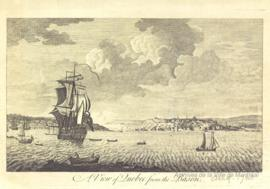 A view of Quebec from the Bason . - [ca 1760]