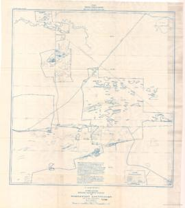 Compilation Ground Magnetic Survey of Louvicourt Abitibi County Quebec. - 1948
