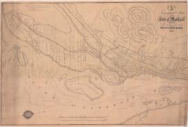 A topographical map of the City of Montreal & vicinity shewing [sic] the line of the new city...