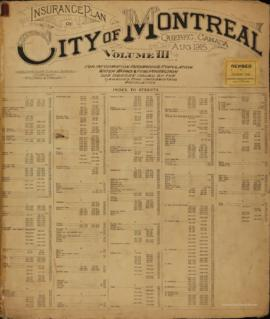 Insurance plan of city of Montreal, volume 3 / Underwriter's Survey Bureau Limited . - 1915 ...