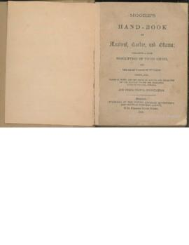 Moore's Hand-Book of Montreal, Quebec and Ottawa / The British American Advertising and Circ...