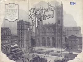 Cosmopolitain Montreal / The Montreal Tourist and Convention Bureau . - [1924]