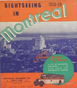 Sightseeing in Montreal / Gray Line, Provincial Transport Co. . - 1938-1939