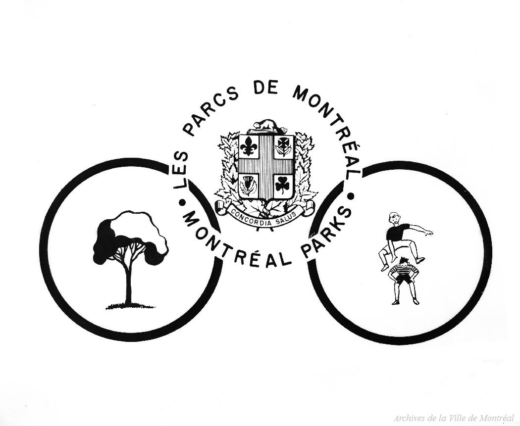 Emblème du Service des parcs, 8 novembre 1957, VM105-Y-1_0519-001