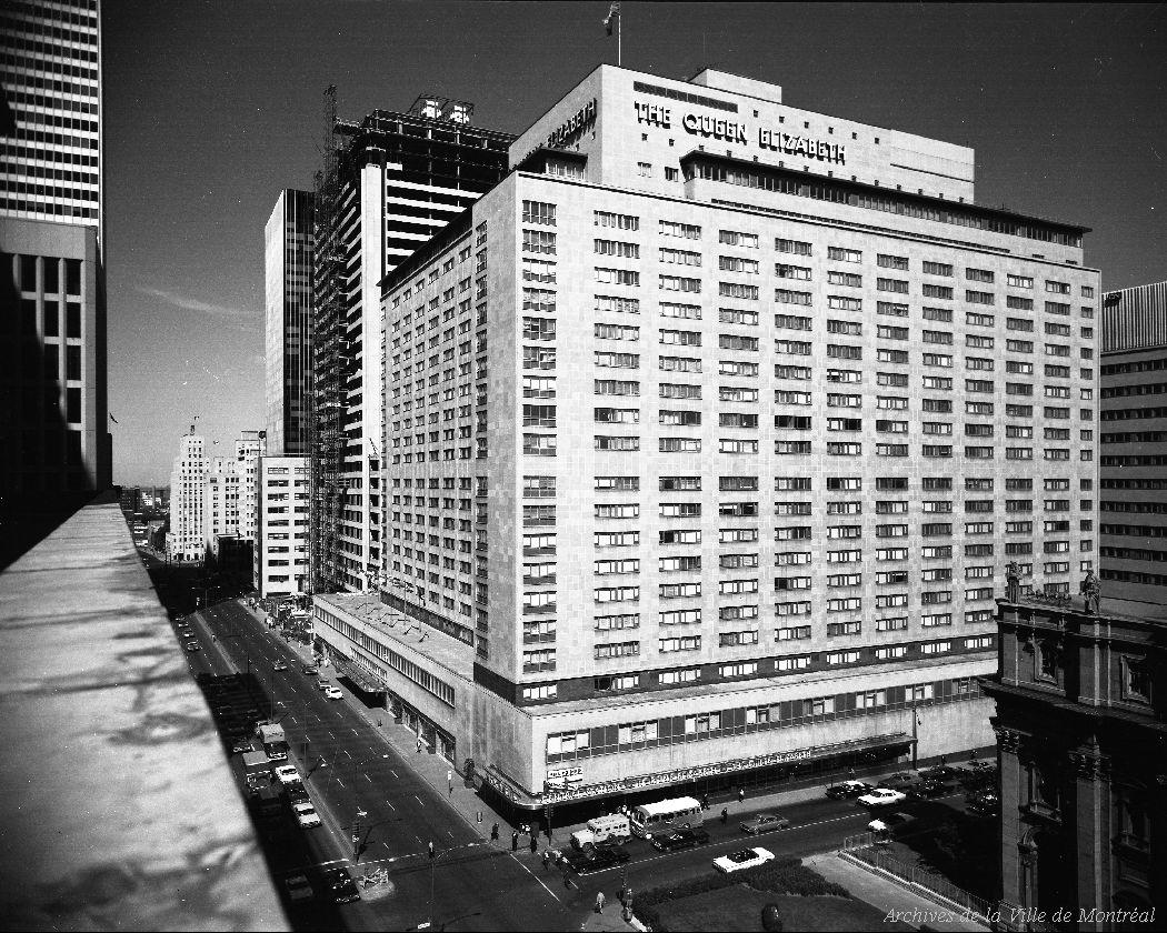 Hôtel Reine Élizabeth, 18 août 1966, VM94-A0343-001