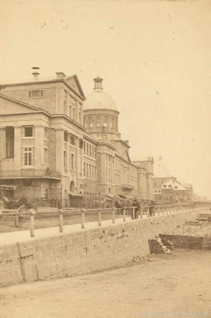 Marché Bonsecours / John Henry Barton . - [vers 1864] CA M001 P090-Y-P5