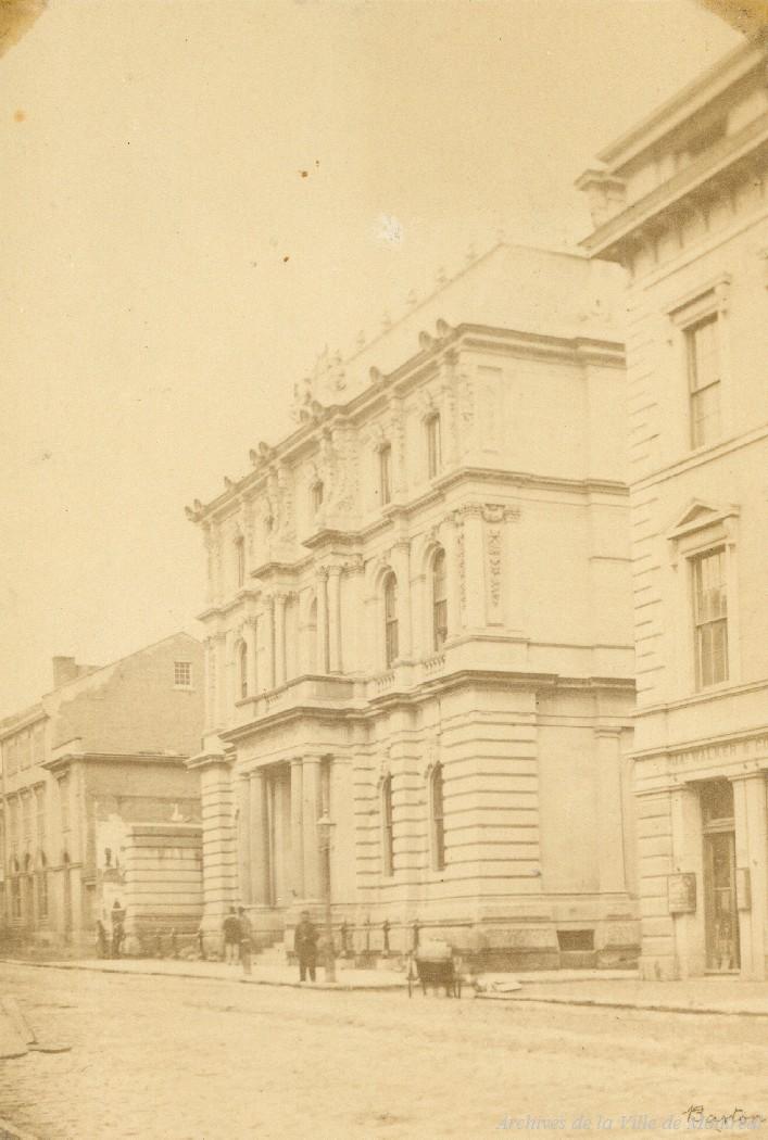 Banque Molson, photo John Henry Barton, vers 1864. P090-Y-P7