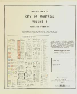Insurance plan of city of Montreal, volume 8 / Underwriter's Survey Bureau Limited . - 1971