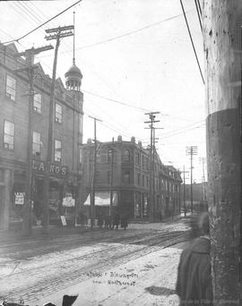 Ontario and Bleury Sts : View Northwest . - [1914?]