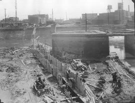 Lachine Canal Crossing . - Avril 1928