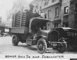 Beaver Hall Sq. and Dorchester . - [192-?]