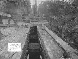 Trench across Craig St. West side of Victoria Square looking North / Rice Studio Limited . - 4 se...