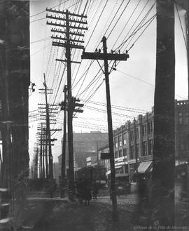 Craig St. looking West : Before . - 8 mars 1922