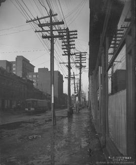Craig St. looking East : Before . - 8 mars 1922