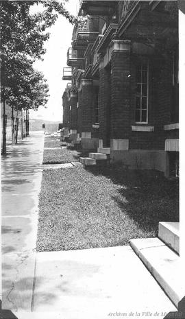 Condition of lawns : Hutchison St. . - [193-?]