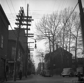 St. dominique Street : Looking North from Dorchester St. . - 1937