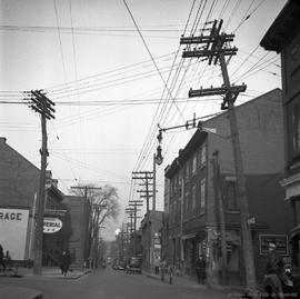 Dorchester Street : Looking East from from City Hall Ave . - 1937