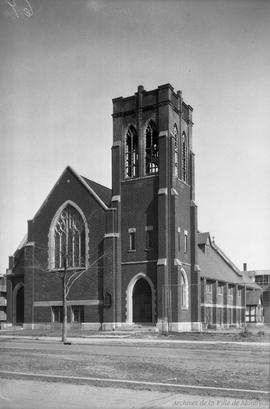 Saint-Cypriens [sic] Church : Boulevard Morgan . - 30 mars 1936