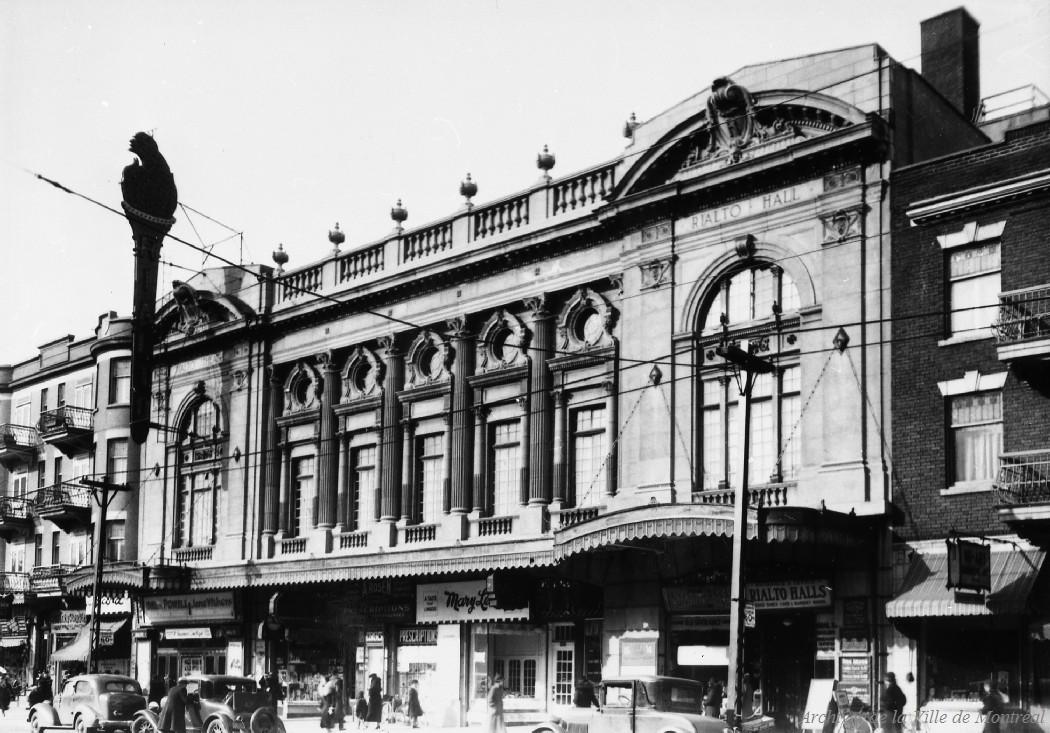 Théatre Rialto: Avenue du Parc . - 1er avril 1936 CA M001 VM094-Y-1-17-D0118
