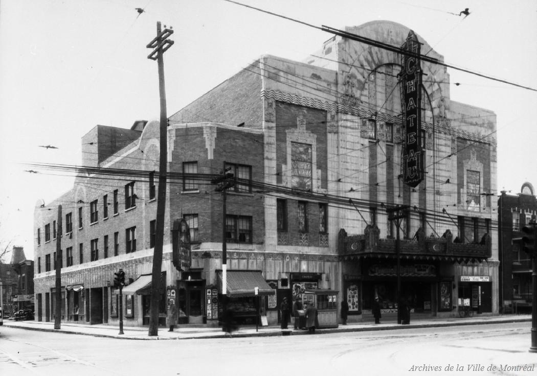 Théâtre Château rue Saint-Denis . - 8 avril 1936 CA M001 VM094-Y-1-17-D0124