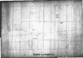 1843-3: Southern section of the Saint Lawrence Ward Montreal. - 1843