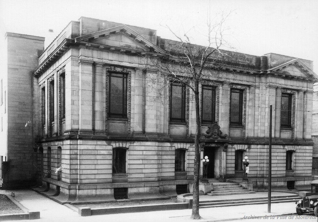 Bibliothèque Saint-Sulpice rue Saint-Denis . - 8 avril 1936 CA M001 VM094-Y-1-17-D0175