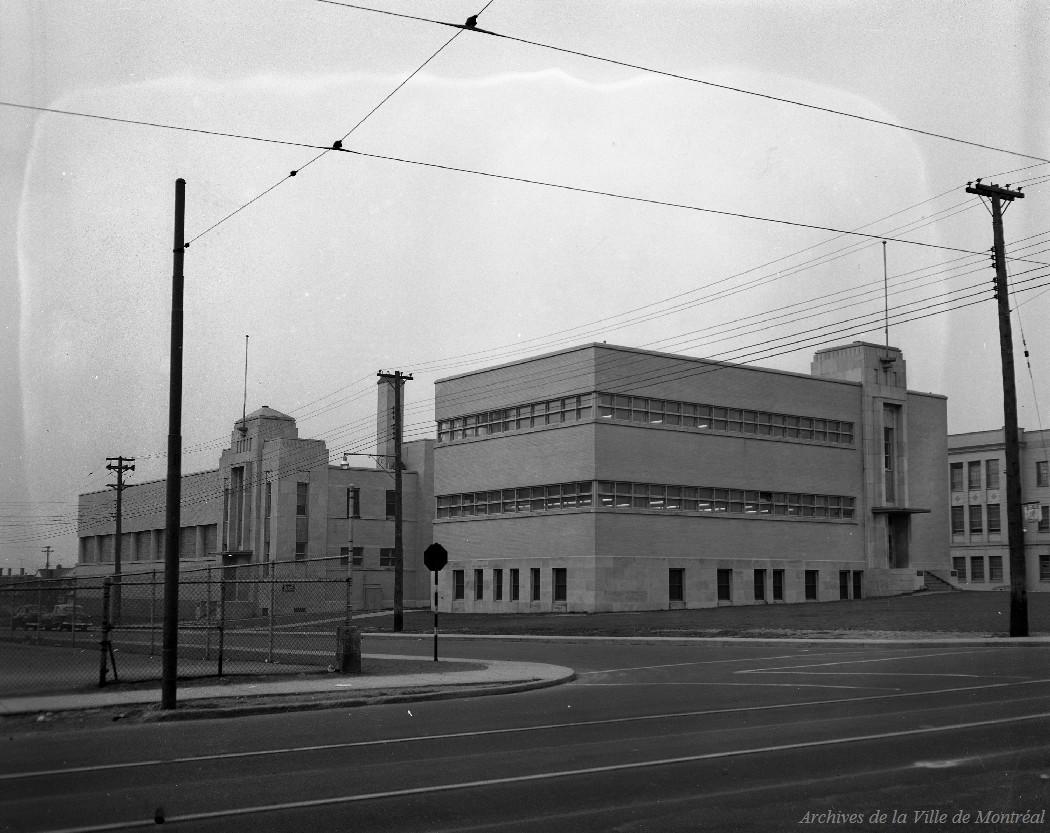 Bibliothèque Rosemont . - 19-22 novembre 1953 CA M001 VM094-Y-1-17-D0505-P11