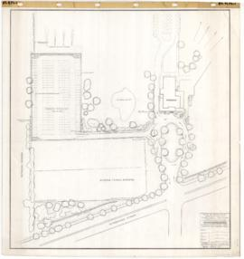 Municipal Golf : Alternative study for location of a parking area. - 12 avril 1961
