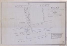 1834-8: Plan exhibiting the property of the Heirs B. Proulx and the space of the Beach and River ...