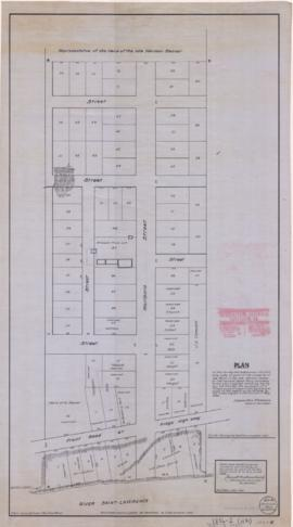 1836-2: Plan of the survey and subdivision into building lots, of part of the property of the Hei...