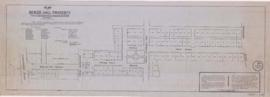 1844-1: Plan of Beaver Hall property from Lagauchetière to Sherbrooke Street Montreal. - Copié le...