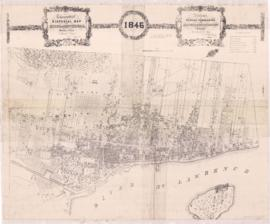 1846-2: Topographical and Pictorial map of the City of Montreal. - Copié en janvier 1949 (publié ...