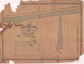 1847-1: Plan of building lots belonging to Benjamin Brewster, situated between the Lachine Canal ...