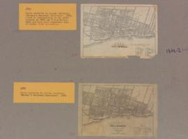 1848-1: Plan of the city of Montreal with the latest improvements. - 1848-1852