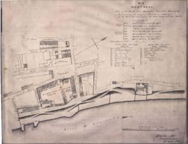 1851-1: Plan of the Quebec Gate Barracks, Garrison Hospital &c. to accompany the returns nos ...