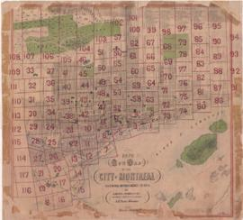 1870-1: New map of the City of Montreal showing improvements to date. - 1870