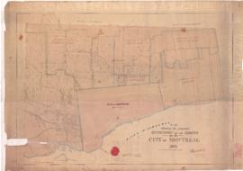 1871-1: Plan shewing [sic] the proposed extension of the limits of the City of Montreal. - Novemb...