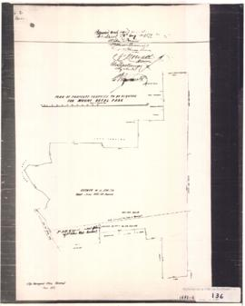 1872-4: Plan of property proposed to be acquired for Mount Royal Park. - [19-] (original créé en ...