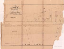 1872: Plan of the property of G. Bishop Esq. - 1872