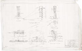 Master plan of the sport center, Maisonneuve park : Outdoor theater. - 1957
