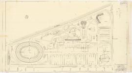 Master plan of the sport center, Maisonneuve park : General development plan - 1957