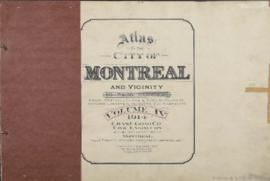 Atlas of the City of Montreal and vicinity in four volumes, from officials plans - Special surveys showing cadastral numbers, buildings lots : Volume 4 / Chas. E. Goad Co., civil engineers. - 1914